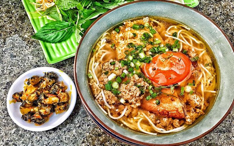 Bún riêu cua ốc Phan Rang Ninh Thuận