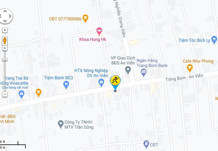 Bản đồ đến siêu thị Điện máy XANH tại Xã An Viễn, huyện Trảng Bom, tỉnh Đồng Nai