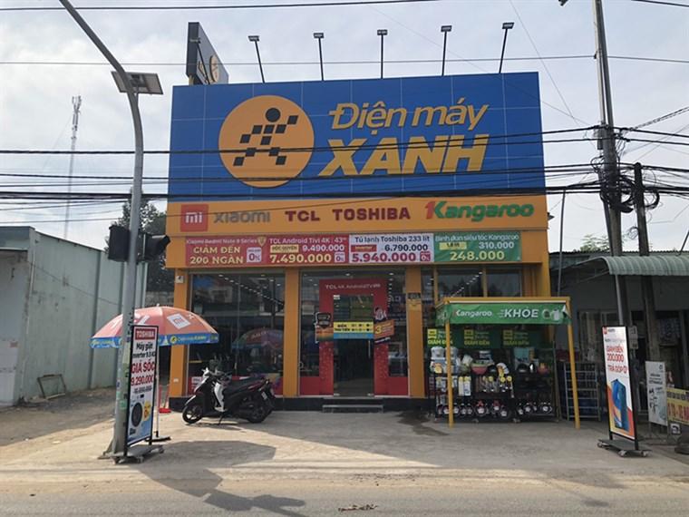Siêu thị điện máy xanh tại Xã An Viễn, huyện Trảng Bom, tỉnh Đồng Nai