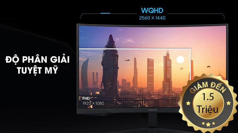 Màn hình máy tính Gaming Samsung giảm giá đến 1.5 triệu đồng