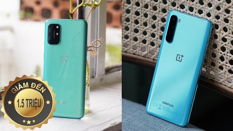 OnePlus 8T 5G và Nord 5G