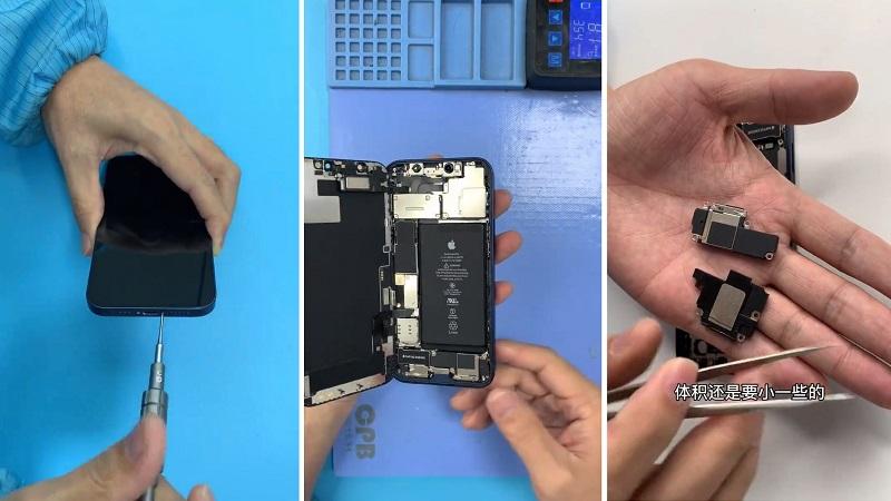 Xuất hiện video 'mổ xẻ' iPhone 12, cho thấy khác biệt với iPhone 11
