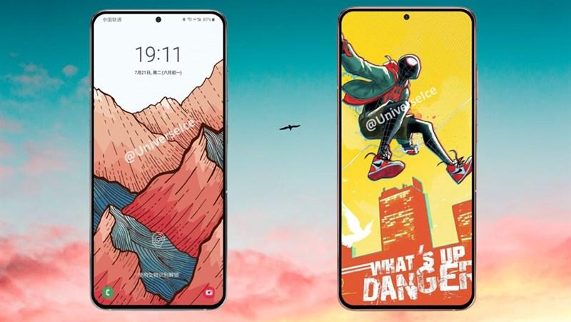 Smartphone cao cấp Samsung Galaxy S21 Plus lộ ảnh render với màn hình tràn cạnh cân đối cùng nốt ruồi nhỏ gọn