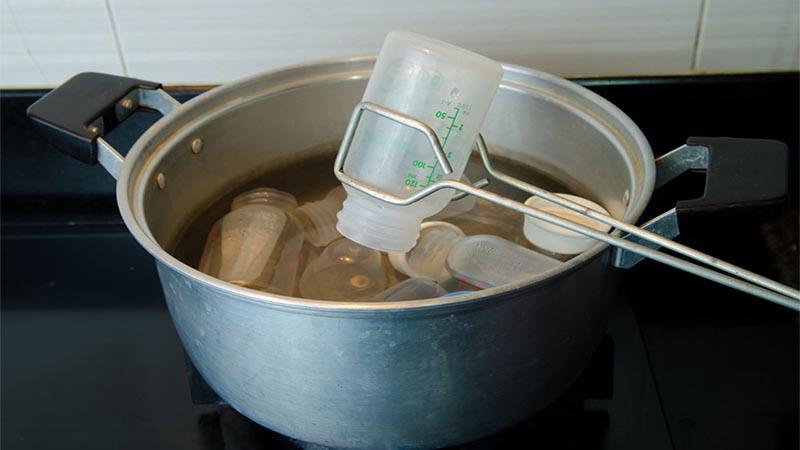 Nghiên cứu của các nhà khoa học về việc tiệt trùng bằng nước nóng