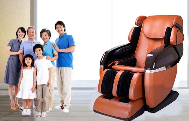 Ghế massage để chăm sóc cho cả gia đình