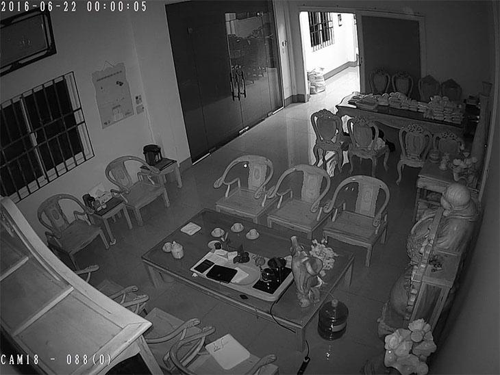 Camera sử dụng tia hồng ngoại để quan sát được ban đêm
