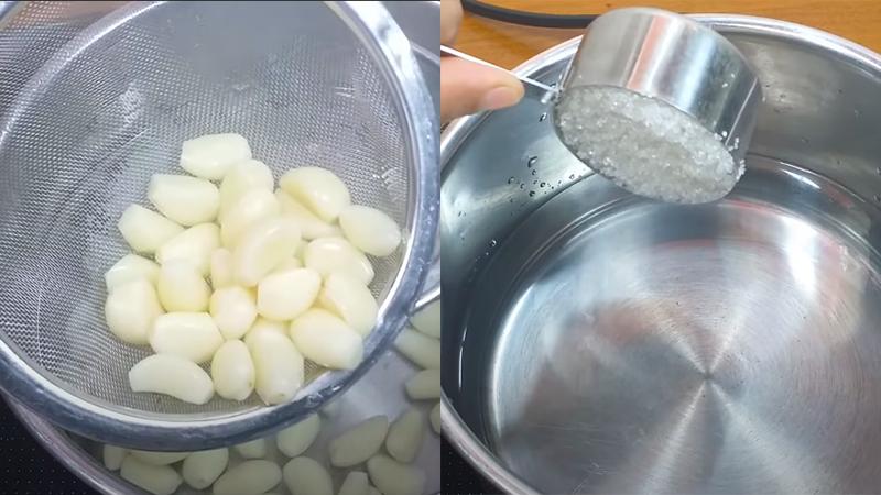 Cách làm tỏi ngâm trắng giòn ăn phở không bị xanh