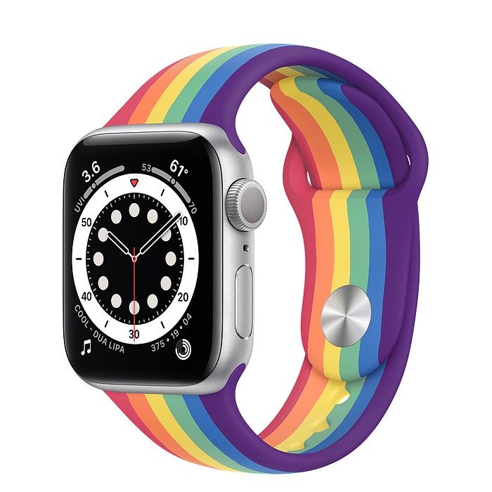 Apple Watch 6 vỏ nhôm bạc