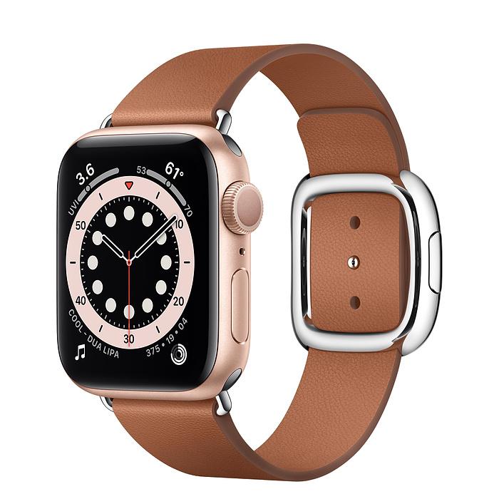 Apple Watch 6 vỏ nhôm vàng hồng