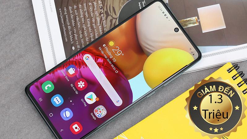 Điện thoại Samsung Galaxy A51 và Samsung Galaxy A71 đang được giảm giá