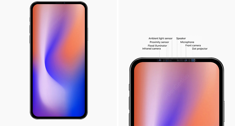 iPhone without notch