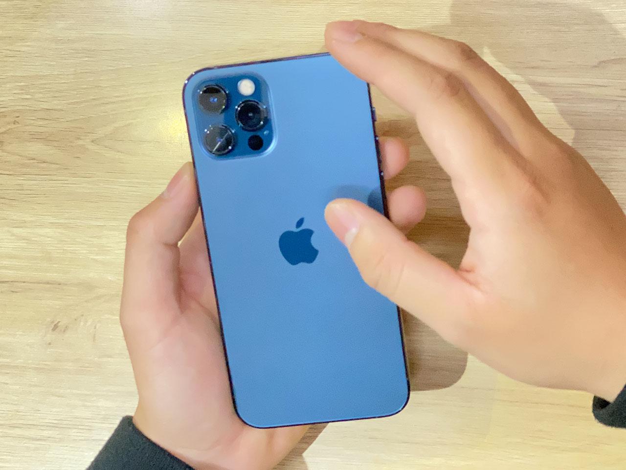 Thiết kế mặt lưng của iPhone 12 Pro