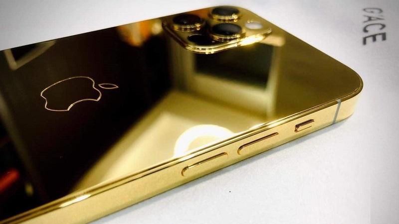 Đây là iPhone 12 Pro mạ vàng đầu tiên tại Việt Nam, giá 127 triệu đồng