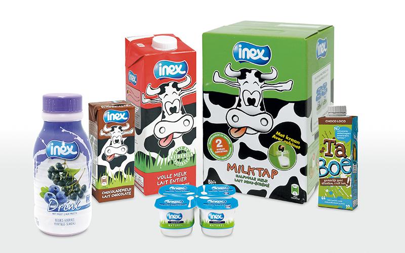 Các sản phẩm sữa tươi Inex