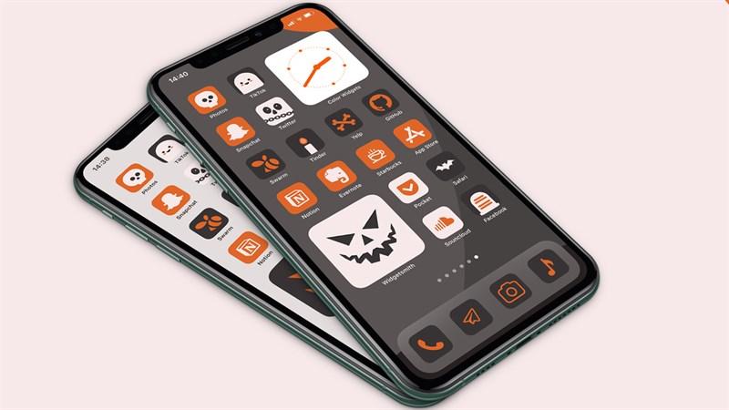 Cách đổi giao diện màn hình iPhone để hưởng ứng theo mùa Halloween