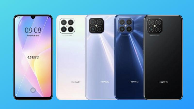 Hình ảnh render Huawei Nova 8 SE