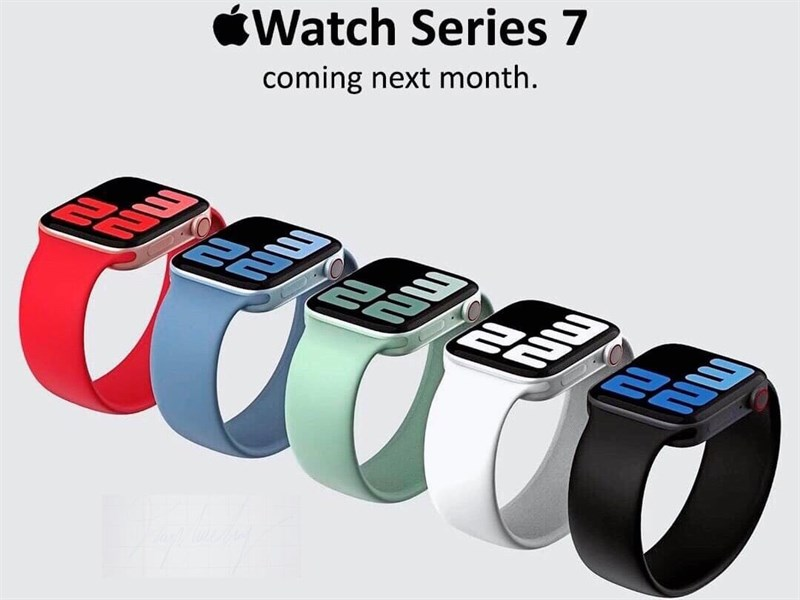Apple Watch Series 7 và...