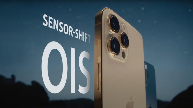 Công nghệ ổn định hình ảnh Sensor Shift sẽ mở rộng trên ống kính góc siêu rộng của iPhone 13