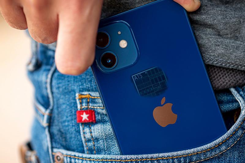 Dòng iPhone 13 sẽ được trang bị con chip Apple A15. (Nguồn: GSMArena).