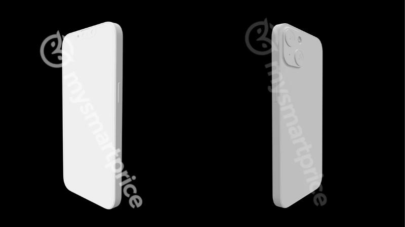 Biết đâu cụm camera sau với thiết kế đối xứng này sẽ tạo hiệu ứng marketing cho iPhone 13 (iPhone 12s)? (Nguồn: MySmartPrice).