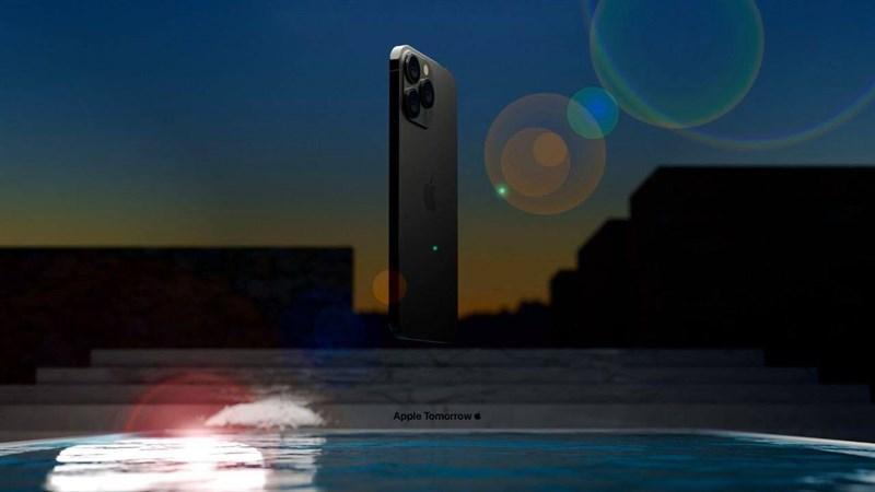iPhone 13 Pro Max phiên bản màu đen. (Nguồn: Apple Tomorrow).