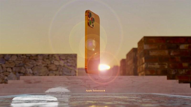 Bản màu cam đồng cực độc lạ của iPhone 13 Pro Max.