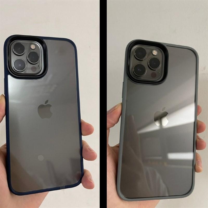 iPhone 12 Pro Max được đặt trong ốp của iPhone 13 Pro Max