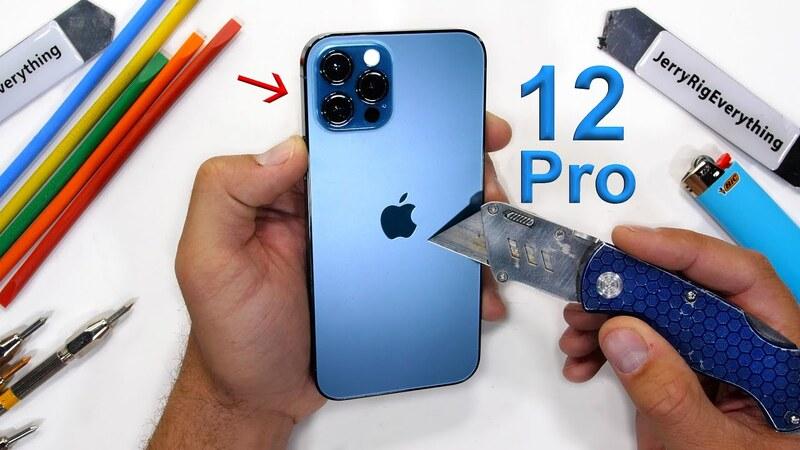 Kiểm tra độ bền iPhone 12 Pro