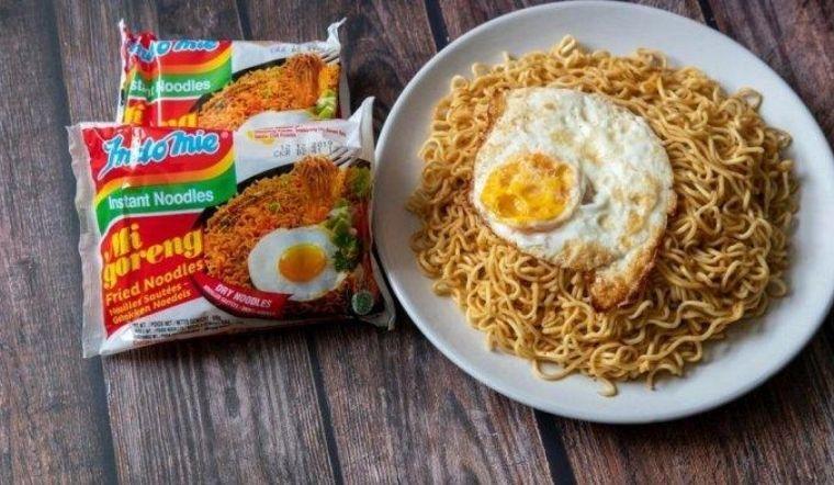 Biến tấu mì xào khô Indomie chuẩn vị Indo
