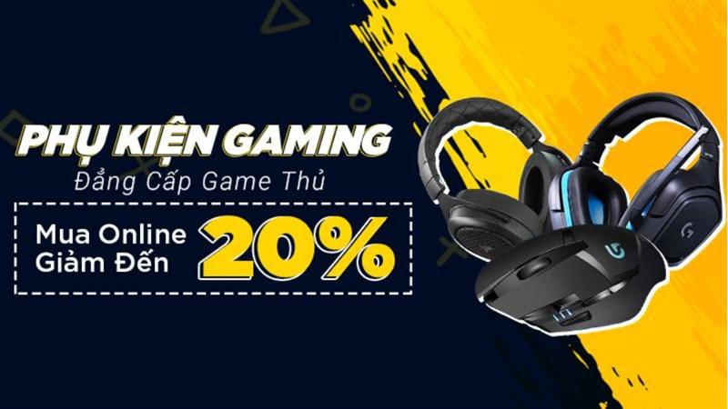 Dịp tốt cho anh em game thủ mua sắm phụ kiện máy tính online giảm giá