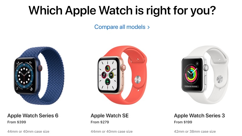 Ra Apple Watch Series 6 và kèm Series 3, sao Apple vẫn ra Watch SE?