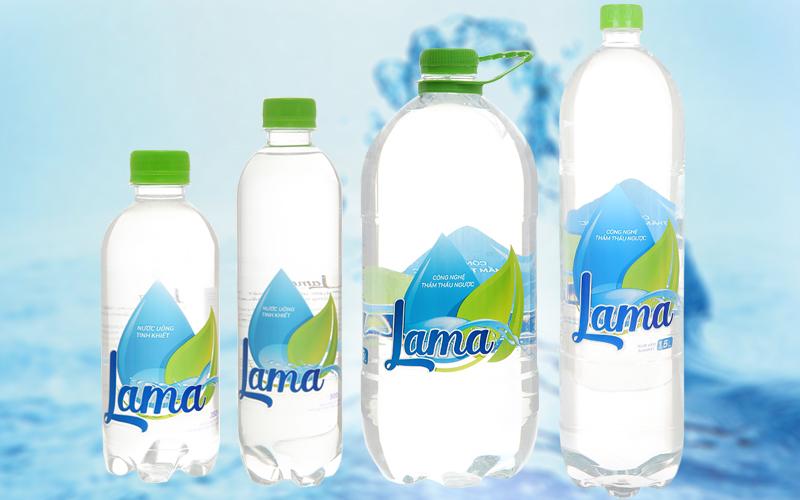 Thương hiệu nước suối Lama