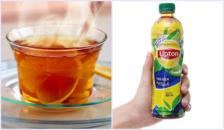 Nên sử dụng trà lipton tự pha hay trà lipton pha sẵn?