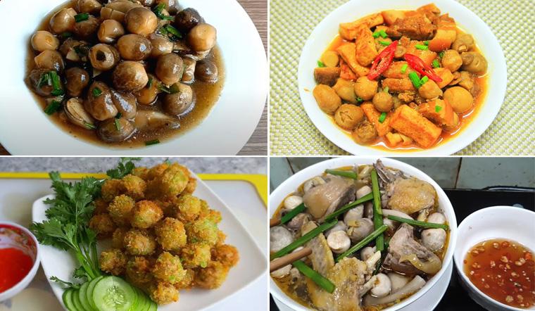 5 công thức món ăn với nấm rơm ngon tuyệt ăn mãi không ngán