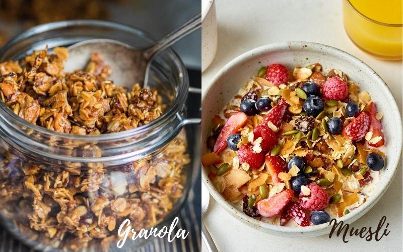 Granola và Muesli loại nào tốt hơn?