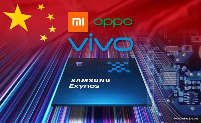 Samsung sẽ cung cấp bộ xử lý ứng dụng AP Exynos cho các nhà sản xuất smartphone Xiaomi, Vivo và OPPO