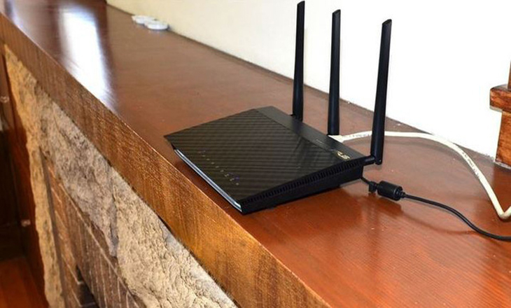 Điều chỉnh vị trí router