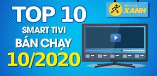 Top 10 tivi bán chạy nhất tháng 10/2020 tại Điện máy XANH