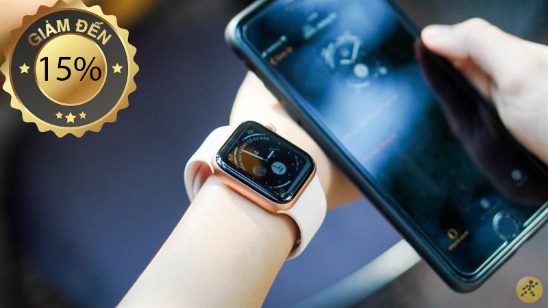 Apple Watch giảm giá cực sốc lên đến 15% iFans không thể bỏ qua