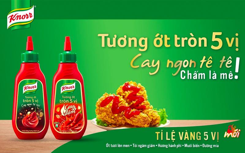Tương ớt Knorr thuộc thương hiệu nào?