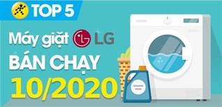 Top 5 Máy giặt LG bán chạy nhất tháng 10/2020 tại Điện máy XANH