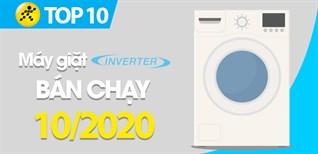 Top 10 máy giặt Inverter bán chạy nhất tháng 10/2020 tại Điện máy XANH