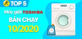 Top 5 Máy giặt Toshiba bán chạy nhất tháng 10/2020 tại Điện máy XANH