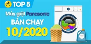 Top 5 Máy giặt Panasonic bán chạy nhất tháng 10/2020 tại Điện máy XANH