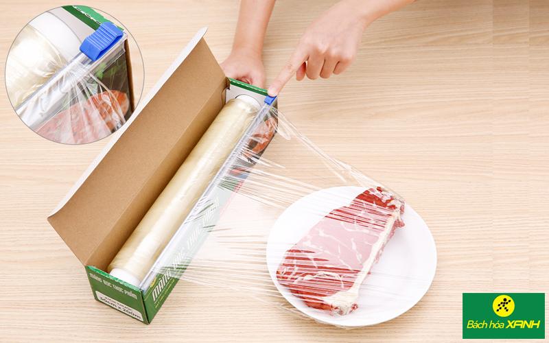 Màng bọc thực phẩm PVC Bách hóa XANH kích thước 30cm x 200m