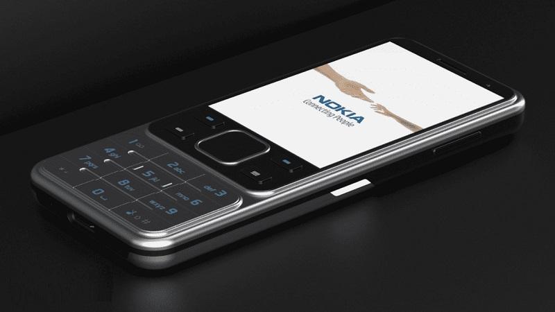 Lộ hình ảnh render của Nokia 6300 2020: Màn hình 2.4 inch, hỗ trợ 4G
