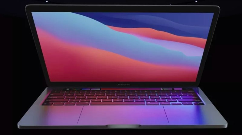 Apple launched a 13-inch MacBook Pro with M1 chip: nearly 3 times the performance, 20 hours of continuous video playback