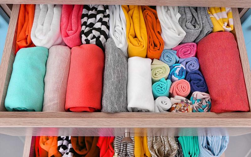 Những loại quần áo nên gấp
