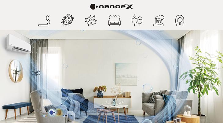 Công nghệ nanoe™️ X có trên máy lạnh Panasonic là gì?