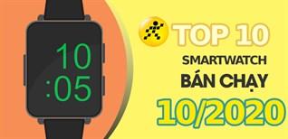 Top 10 Smartwatch bán chạy nhất tháng 10/2020 tại Điện máy XANH